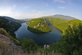 Vrbas river — Stock Photo