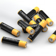 Batteries lying - Stock Photo