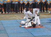 Taekwondo Tournament — Stock Photo