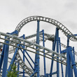 Binaries in a suggestive of a roller coaster track - Stok fotoraf