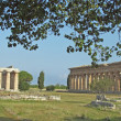 Ancient Greek temple for the worship of the gods - Stock Photo