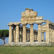 Ancient Greek temple for the worship of the gods in southern Ita - Stok fotoğraf