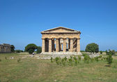 Precious and Ancient Greek temple with columns still intact — Stock Photo