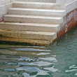 Stock Photo: Marble stairs that descend to sea