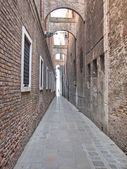 Street in the Centre of Venice — Stock Photo