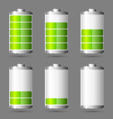 Battery icon — Cтоковый вектор