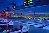 Bowling alley — Stock Photo