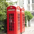 Stock Photo: London phone booth