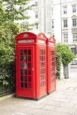 London phone booth — Stock Photo