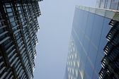 Two modern business buildings — Stockfoto