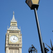 Royalty-Free Stock Photo: Taxi sign with big ben