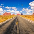 Stock Photo: Monument valley road