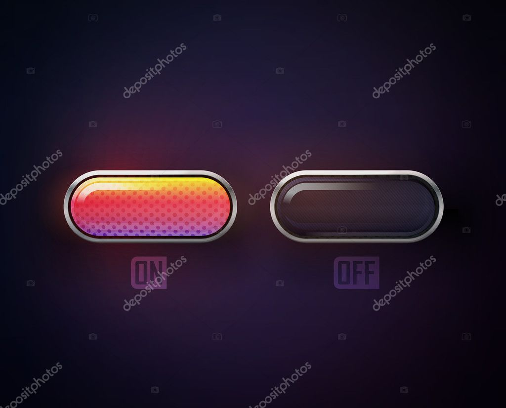 Glossy buttons for your website. eps 10 illustration — Stock Vector #11205219