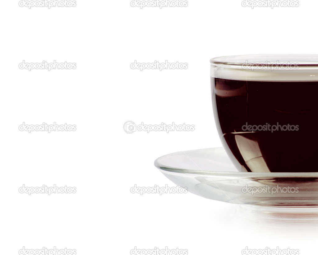 Espresso on white background — Stock Photo #10767230