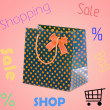 Shopping Bag - Stockfoto
