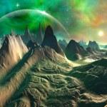 Fantasy Planet — Stock Photo