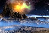 Yabancı gezegen — Stok fotoğraf
