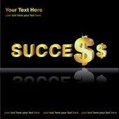 Money in business — Stock Vector