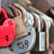 Love padlocks — Stock Photo #11608353