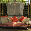 Nice outdoor couch - Stockfoto