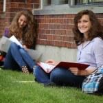 Student studying outside — Stock Photo #11713469