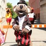 festival de la mascotte — Photo