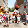 Mascot festival - Stockfoto