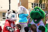 Mascot festival — Stock Photo