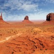 Landscape at Monument Valley — Stock Photo