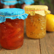 Citrus jam — Stock Photo