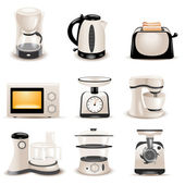Kitchen appliances — Vettoriale Stock