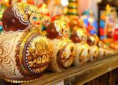 Muñecas rusas de anidación — Foto de Stock