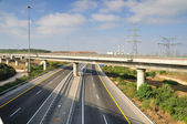 Two-way highway. — Stock Photo