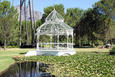 Pavilion at the Boschendal Wine Estate — Stock Photo