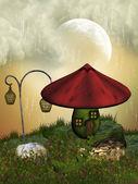 волшебный дом — Стоковое фото