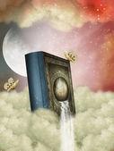 Fantasy storybook — Stock Photo