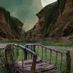 pont de fantaisie — Photo #11772221