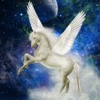 Stock Photo: Pegasus