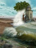 Krajobraz fantasy — Zdjęcie stockowe