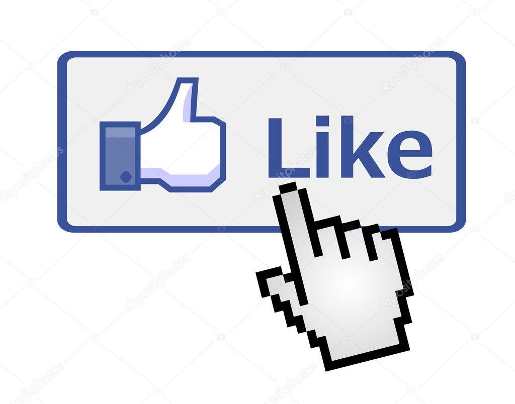 Social media Facebook like button Facebook like button