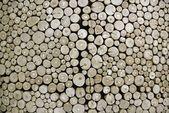 Small logs, cross — Stock Photo