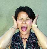 De schreeuw — Stockfoto