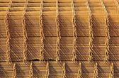 Storage of steel reinforcement — Stock Photo