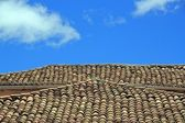 Roof typical of the island of Madeira — Stock Photo