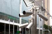 Security video camera — Stock Photo