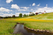 South Bavaria landscape — Stock Photo