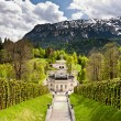 Linderhof castle — Stock Photo