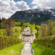 Linderhof castle - Stock Photo