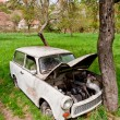 Old broken car — Stock Photo