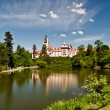 Pruhonice Castle, Czech Republic - Stock Photo